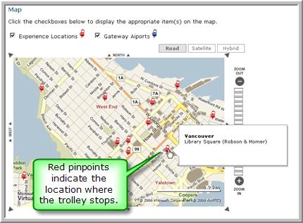 Bus Stop Locations