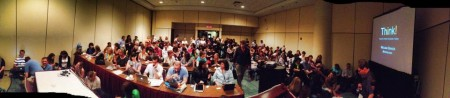Packed room for my TBEX preso